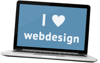 webdesign laptop